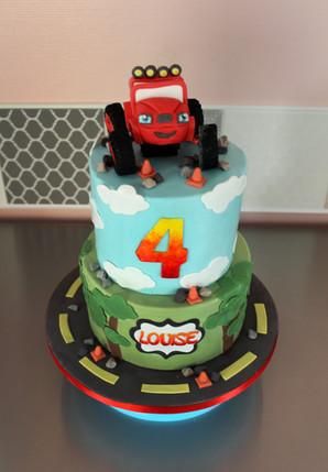 Gâteau d'anniversaire Blaze