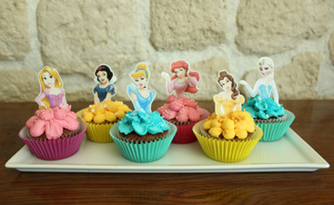 Cupcakes princesses Disney