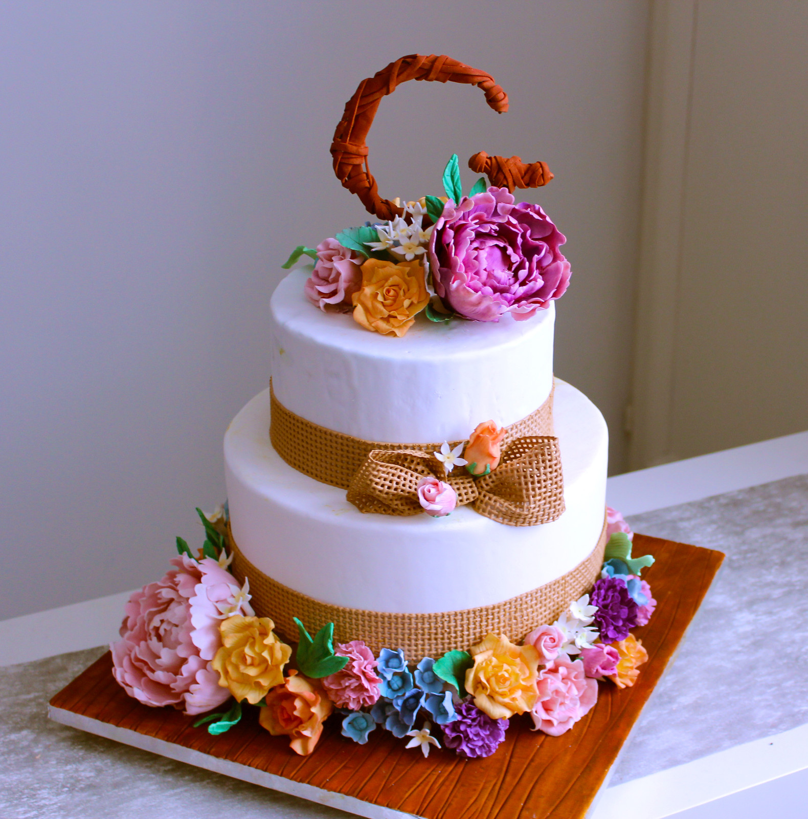 Lovely Desserts Gateaux Pate A Sucre Oise Mariage Wedding Cake