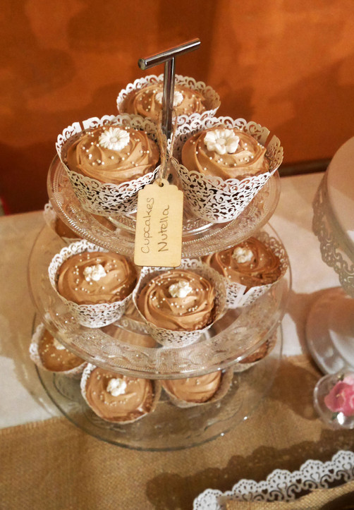 Cupcakes au nutella mariage Lovely Desserts