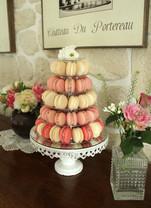 Tour de macarons pour évènement gourmand