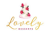LOGO Lovely desserts gâteaux pâte à sucre & biscuits artisanaux oise