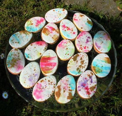 Biscuits décorés pour évènement d'entreprise - Pâques