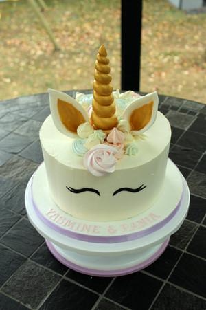 Gâteau d'anniversaire licorne Lovely Desserts