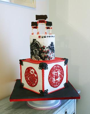 Gâteau personnalisé Chine asie