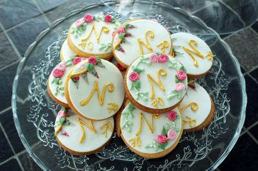 Biscuits décorés pour anniversaire thème Liberty