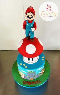 Gâteau d'anniversaire Super Mario Bros.