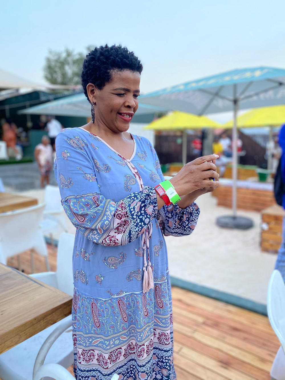 Candy TsaMandebele graced the Charlie Communications listening session