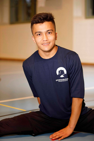 Abdullah (19 J), from Afghanistan