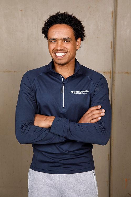 Sportegration langarm Sportshirt   |  Männer