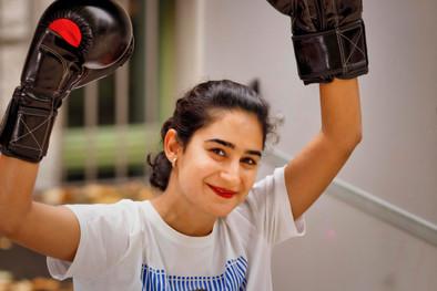 Negin (26 years), from Iran