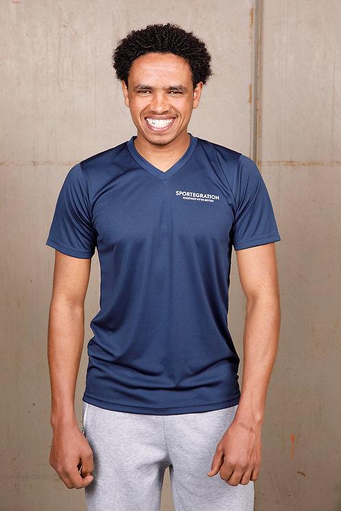 Sportegration V-Neck Sportshirt   |  Männer