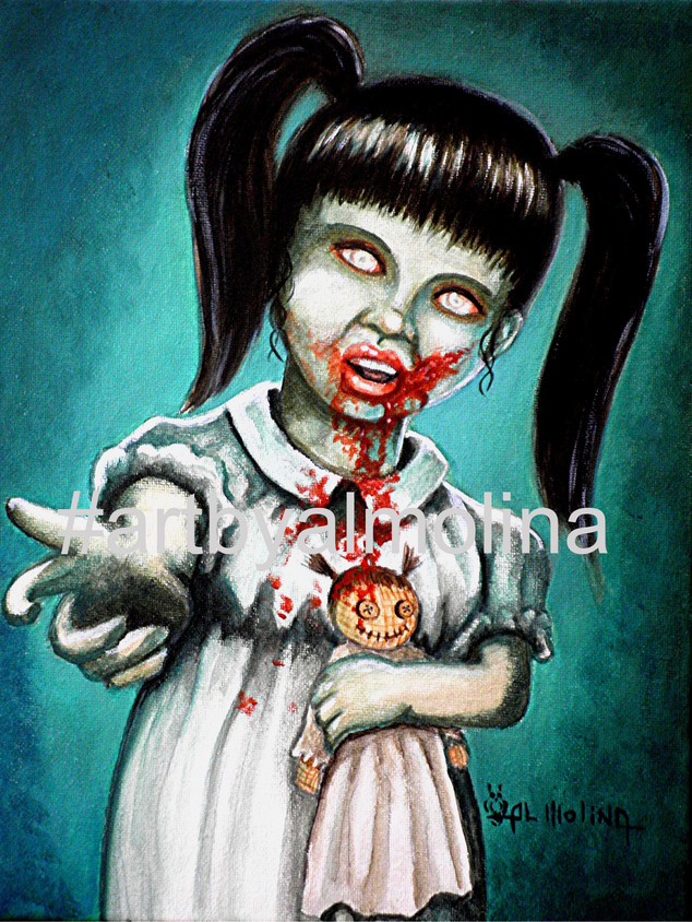 Aaarrgg Thats Zombie talk for Mommy_Wate