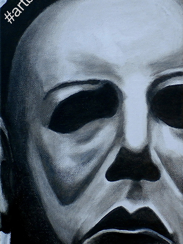 Michael Myers up close and personal_Wate