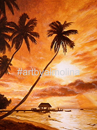 Sunset on Paradise Cove-Watermark.jpg