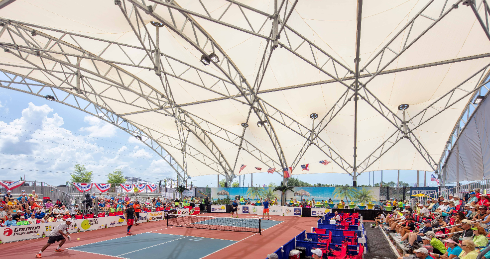 Pickleball Shade Structure