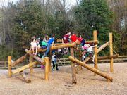 Norna Playgrounds Robinia Climbing System