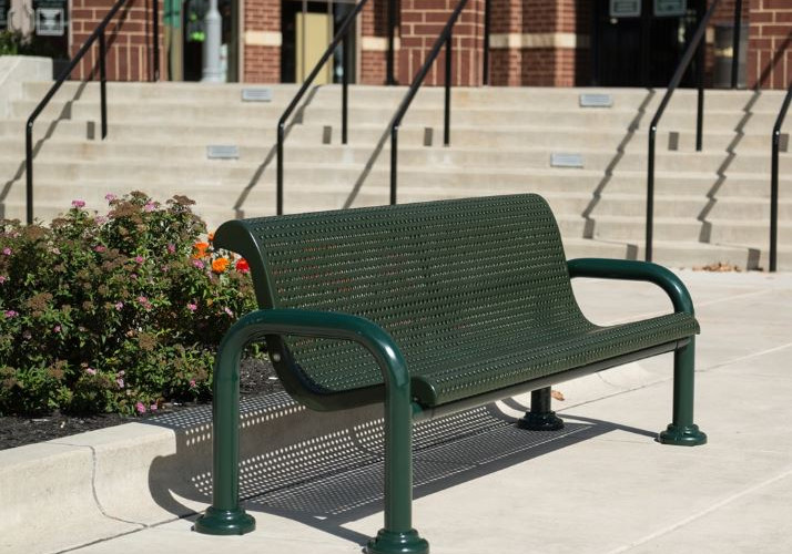 Wabash Valley Contemporary Bench