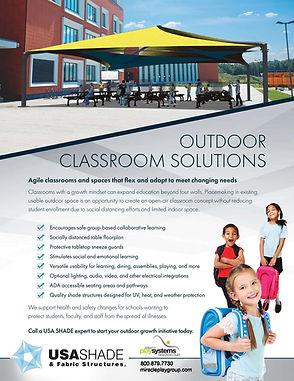USA Shade Outdoor Classroom Solutions Co