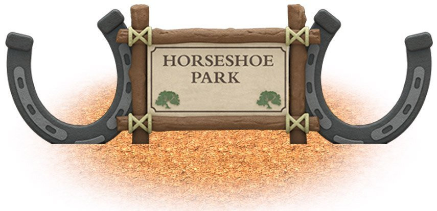 UPC Parks - Horseshoe Sign