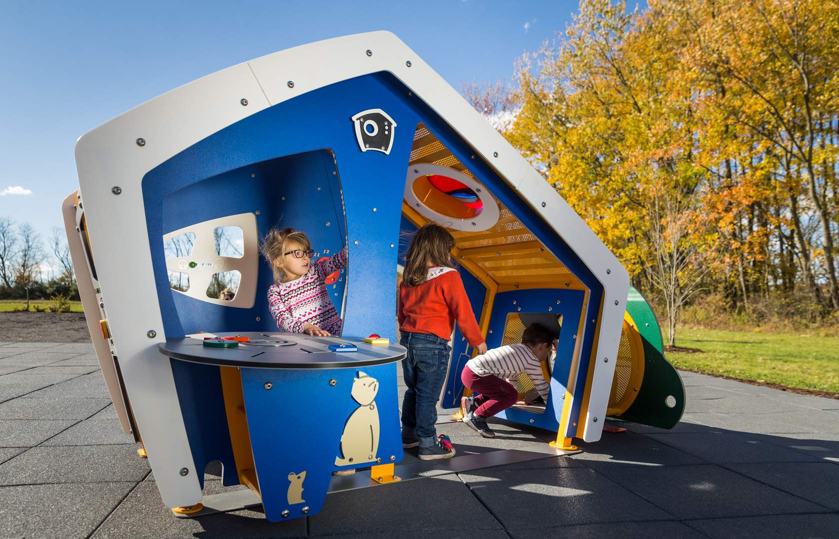 Miracle Recreation Mini City Playhouse