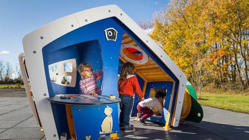 Miracle Recreation Mini City Playhouse