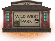 UPC Parks - Wild West Sign