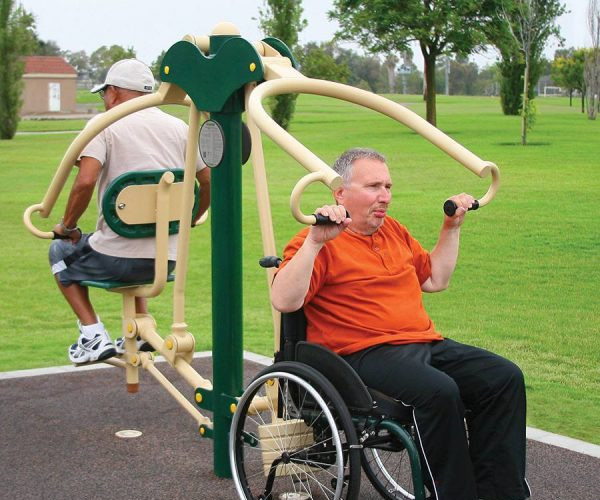 Greenfields 2-Person Accessible Lat Pull