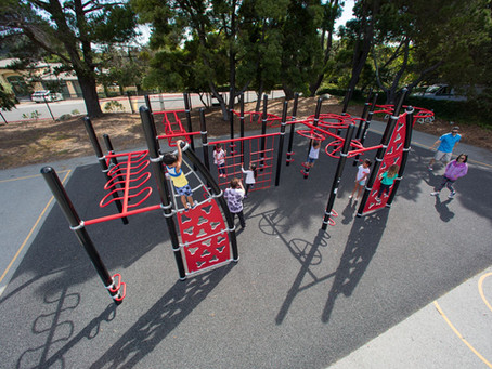Let's Get Moving with Outdoor Fitness Equipment!