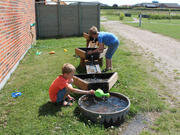 Norna Playgrounds Water Games w/ Triangular Vessels