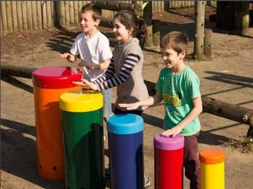 Percussion Play Rainbow Sambas