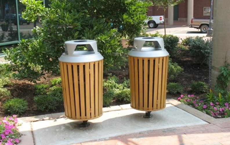 Urbanscape Woodridge Collection Receptacle