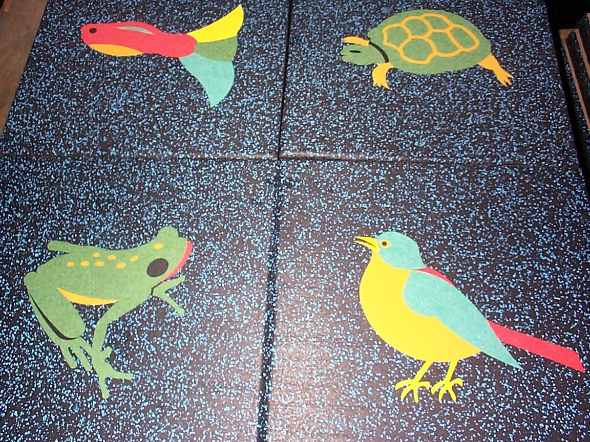 No Fault Playground Tiles