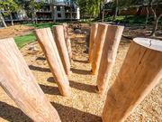Norna Playgrounds Robinia Stilts