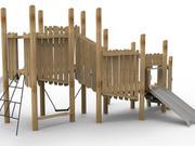 Elephant Play Custom Cedar Module