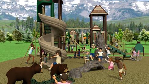 Squaw Valley Resort School Age Playground