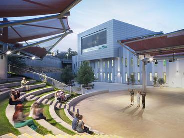 USA Shade Custom Amphitheater Shade