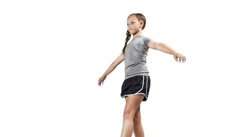 MREC Youth Fitness Balance Beam