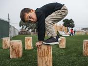 Norna Playgrounds Robinia Balancing Post
