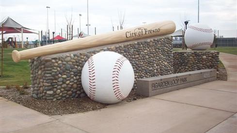UPC Parks - Major League Sign