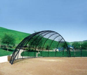 PW Athletic Baseball Arch Backstops