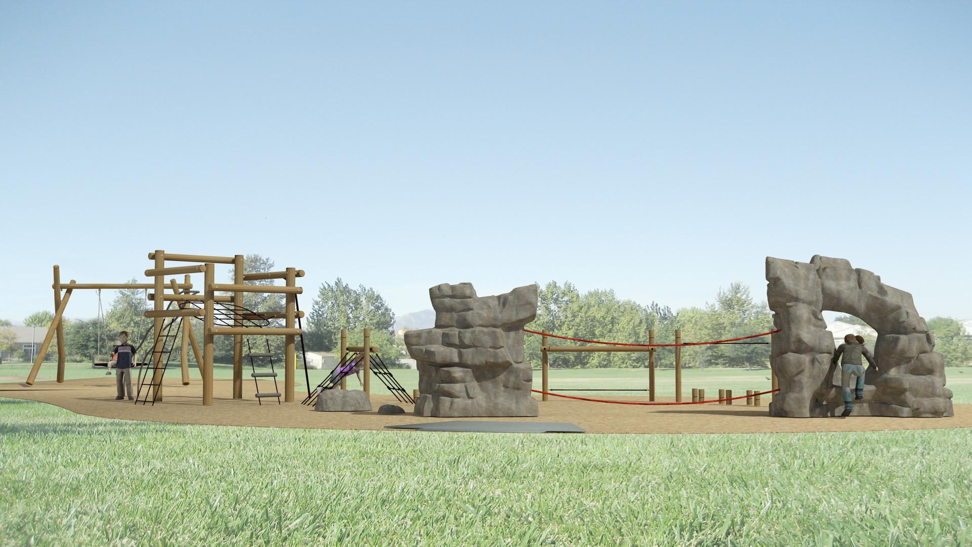 Gum Ranch Park School Age Playground