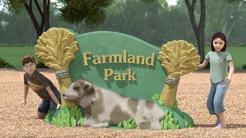 UPC Parks - Farmland-Sign
