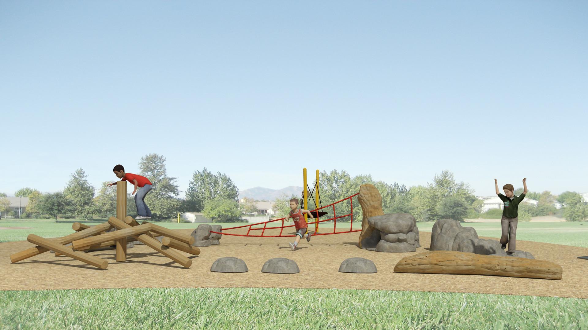 Gum Ranch Park Preschool Age Playground