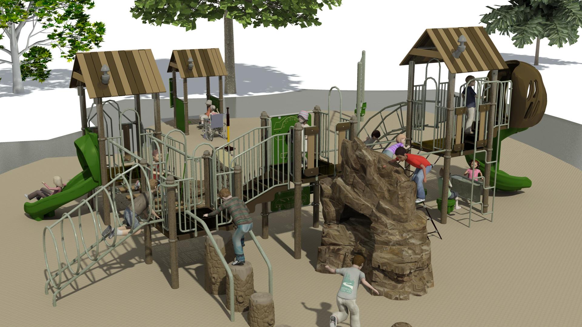 Huck School Age Playground