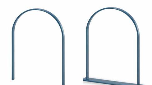 Wabash Bike Loop, Plasticol-Coated Bike Rack