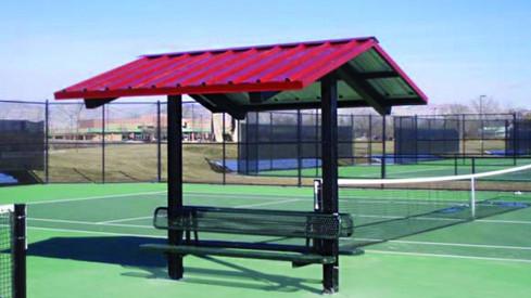 Superior Shelter 8'x8' Gable End Steel Framed Mini-Shelter