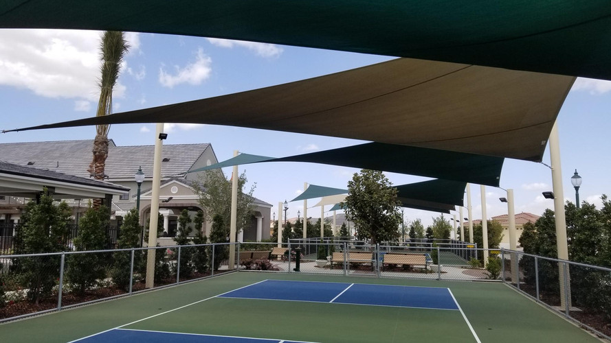 Custom Canopies Shade Sails