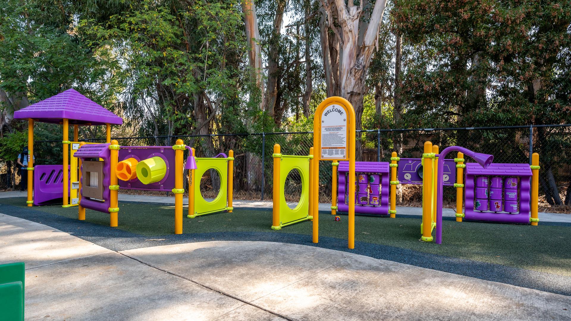 Redwood HS Preschool Playground