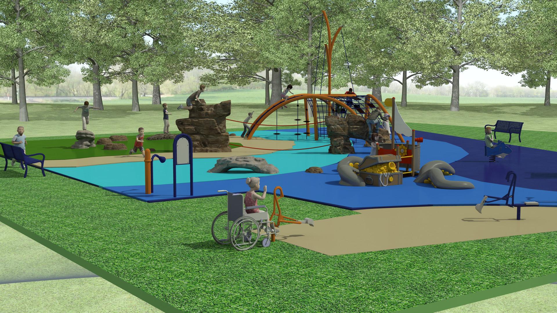 Spyglass Park School Age Playground